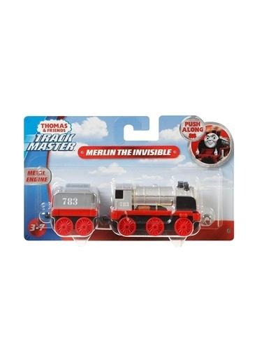Thomas & Friends Tho Friends Trackter Sür-Bırak Büyük Tekli Tren GCK94-FXX26 Renkli